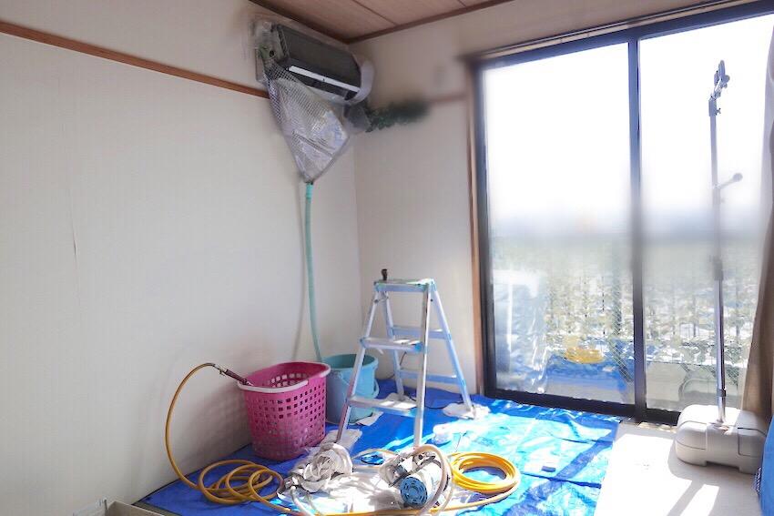 カジタク/エアコンクリーニング養生の全体像