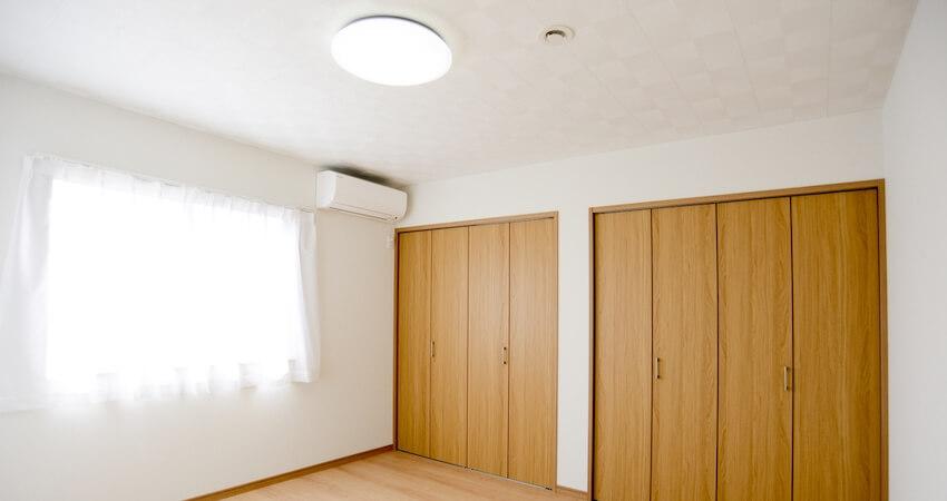 作業スペースがある部屋